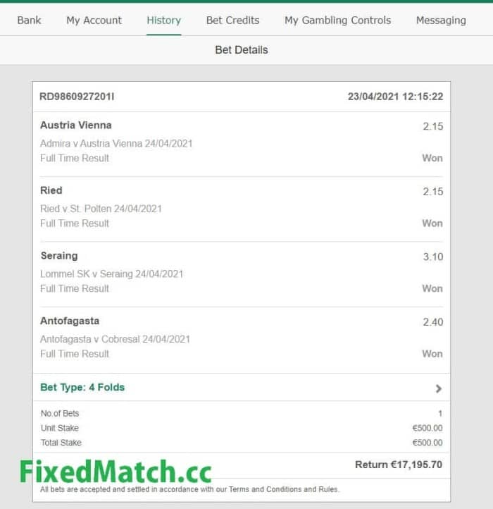 fixed predictions soccer weekend