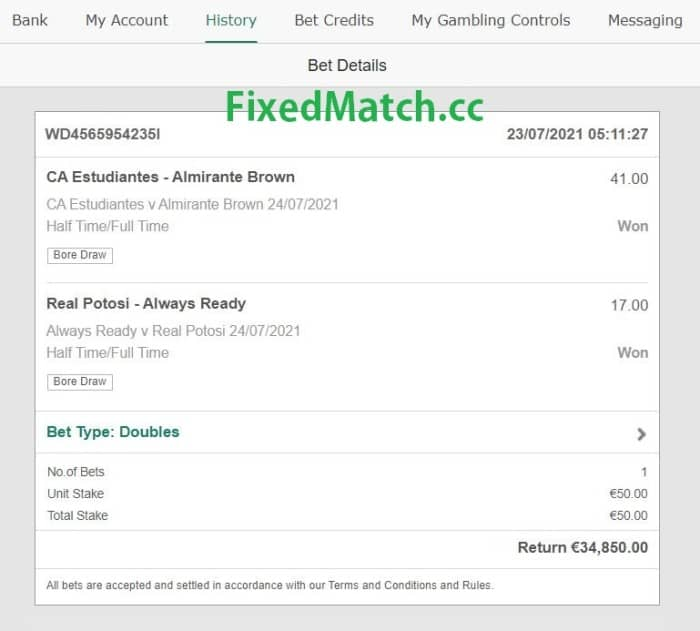 ht ft sure win double bet